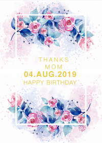 Birthday Card templates 72484