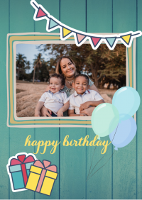 Birthday Card templates 119806